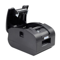 Wholesale Pos Printers - XP-C58N freeshipping USB 2 inch 58mm thermal receipt printer mini pos printer auto cutter Parallel Receipt printer XP-T58NC