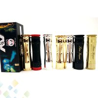 elektronische zigarette neueste mechanische mods großhandel-Neueste Timekeeper V3 Mechanische Mod Elektronische Zigaretten passen 18650 Batterie Zeit Keeper V3 Mech Mod Fit 510 Zerstäuber DHL geben frei