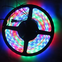 Couleur de rêve magique Pas Cher-DC12V WS2811 LED Strip 5050 SMD RGB LED Ruban 5 M Magic Dream Couleur directionnelle Digital Ledstrip 30/60 leds / m