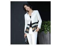 Wholesale Korean Style Ladies Blazer - freeshipping Spring and autumn fashion coat Korean style lady suit slim slim fashion ladies casual coat suit occupation coat