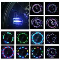 Wholesale Night Ride Bike Light - Bright Bike Wheel Lights - Waterproof 14 LED Spoke Light for Night Riding 30 Different Patterns Change - Best Christmas Gifts & Birthday