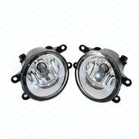 Wholesale fog lamp for toyota corolla - 2pcs Auto Front bumper Fog Light Lamp Car H11 Halogen Light 12V 55W Bulb Assembly for TOYOTA URBAN Yaris AURIS RAV 4 CAMRY Right Left