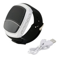 sport mp3 uhren großhandel-Großhandels-Bluetooth Sport-Musik-Uhr-Lautsprecher B90 Tragbarer Mini-Fahrrad-Lautsprecher Bluetooth-Lautsprecher TF-Karte FM Audio-Radio-Lautsprecher