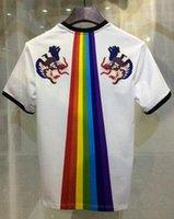 Wholesale Brand Ratings - Top Rated Fashion Man T-Shirts Rainbow Dragon Printed Casual Tshirt Men Wear T-shirt Cotton Mens Brand Clothes
