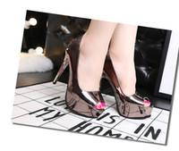 Wholesale Drop Shipping Shop - wholesaler free shipping drop shopping fashion Stiletto Heel sexy platform peep toes high heel wedding shoe 151