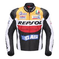Wholesale Motorcycles Jackets Duhan - DUHAN Moto Racing Jackets motorbike GP REPSOL motorcycle Riding Leather Jacket Top Quality OXFORD Jersey