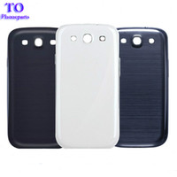 Wholesale Galaxy S3 Back Replacement - New Back Battery Housing Cover Back Door Replacement For Samsung Galaxy S3 i9300 s4 i9500 i9505 i337