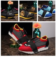 Hot Selling Mixed Colors Casual Couple Shoes Homme femme Sneakers pas cher Mode Designer Low Cut Patchwork Zapatos Mujer Race Runner Chaussures