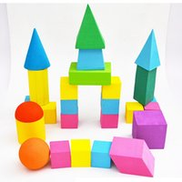 Wholesale Kindergarten School Toys - Elementary School Students Mathematical Geometry Models Children Toys 3D Models Geometric Suite Early Learning Kindergarten Baby Cognitive T