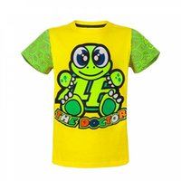 """Wholesale 46 rossi - Free Shipping Motorcycle Kids Cotton t-shirt MotoGP 46 Valen Rossi Children's Turtle pattern t-shirt VR46""""The Doctor""""Kid T-shirt"""
