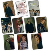Wholesale Bamboo Posters - Wholesale- Kpop GOT7 2016 MAD comeback album FLY crystal stickers 10k-pop has 7 Photos poster birthday holiday gift prizes welfare collect