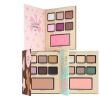 Wholesale eyeshadow without resale online - In stock Grand Hotel Café Christmas Faced Eyeshadow Holiday LIMITED ED MOCHA LATTE COOKIE without hotel LIMITED EDITION
