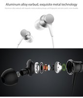Wholesale aux mic - 2017 Newes Original Xiaomi Mi Earphone Piston Fresh Version In-Ear 3.5mm AUX with Mic Wire Control for mobile phone