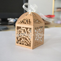 Wholesale Cheap Gifts Made China - Wholesale-laser cut wedding gift boxes,wedding souvenirs gift bag,cheap kraft paper bag made in china