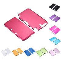 Wholesale H3 R Hot Sale Muliti Color Aluminium Hard Box Shell Case Skin Cover Case For Nintendo DS XL LL High Quality