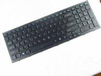 teclado genuino al por mayor-REPUESTO GENUINO PARA SONY 148792821 1-487-928-21 US KEYBOARD negro