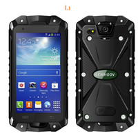 Wholesale quads sale for sale - Group buy L15 Smartphone Inch GB RAM GB ROM IP68 Waterproof Mobliephone Android Smartphone MTK6582 Quad Core GPS Dual SIM Smartphone Hot Sale