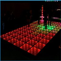 Wholesale Floor Tile Free Shipping - Free Shipping 2017 New Led Tiles 3D Effect Dance Floor Lights