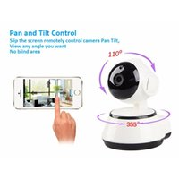 V380 HD 720P Telecamera IP WiFi Wireless Smart Security Camera Micro SD Rete Girevole Defender Home Telecam HD CCTV IOS PC