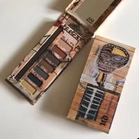 Wholesale face paint palette - 2017 Discount Price Jean Michel Basquiat eyeshadow Palette 8 colors eyeshadow palette Art Oil Painting On face fashion item
