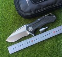 karbon taşıyıcı toptan satış-MT Yıldız Efendisi DAIDO D2 blade karbon fiber kolu KVT rulman Flipper Taktik katlanır bıçak açık kamp avcılık bıçak EDC araçları