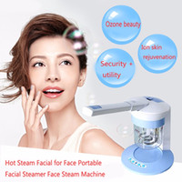 Wholesale Ozone Parts - Hot Ozone Steamer Ion Vapour Facial 360 Degree Rotation Facial for Face Portable Facial Steamer Face Steam Machine
