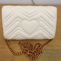 Wholesale hot sell The new MARMONTT wave pattern retro G buckle chain SHOULDER BAGS