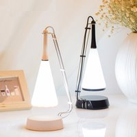 Wholesale Down Light Can - Creative LED Bluetooth music table lamp novelty can charge night light USB stepless dimming touch tube tube head lamp interior lighting