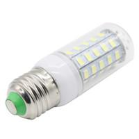 barre plate blanche achat en gros de-Edison2011 Ultra Bright 5730 SMD 48 LED Maïs Ampoule E27 E14 GU10 G9 Base 110V 220V Chaud Pur Blanc Éclairage LED
