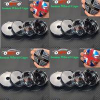 Wholesale Uk Flag Sticker - Modified For Union uk Jack British flag Logo Car Decals 60mm 2.36inch car Wheel Center Sticker Auto Wheel Hub Cap Cover