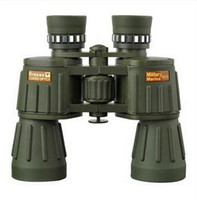 Wholesale night vision eyepiece - Wholesale supply binoculars 10x50 HD military green non infrared night vision telescope large eyepiece