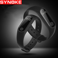 Wholesale Quartz Test - Touch screen test heart rate monitoring smart hand ring sports pedometer Apple Andrews IOS Bluetooth stock M2