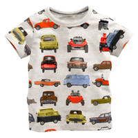 Wholesale Kids Clothes For Grils - Children's Kids Grils boys t-shirt Baby Clothing Little boy Summer shirt Tees Designer Cotton Cartoon for 1-6Y