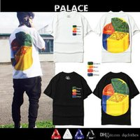 Wholesale Pizza Brands - Fashion Brand Summer PALACE Pizza Triangle Print Short Sleeve T-Shirt Men Women Cotton Short Sleeve Oversize T-Shirt
