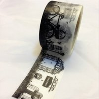 Wholesale Halloween Washi Tape - Wholesale- 2016 Beautiful high quality 30mm*10m halloween washi tape secret garden diy and masking japan washi tape