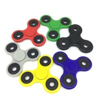 Wholesale Toy Ball Colourful - Colourful Hand Spinner Fidget Spinners With Retail Box Metal Ball Bearings EDC Toy For Decompression anxiety Killing time fingertips Toys