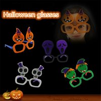 Wholesale Wacky Halloween - Halloween party glasses Wacky Funny Toy Glaring novelty glasses blow out dragon Halloween party decorations 100pcs lot IC543
