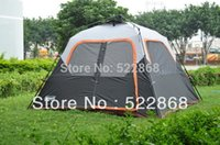 Wholesale High Quality Tents Persons - Wholesale- Large space 6 person one room instant set-up high quality camping tent \outdoor tent