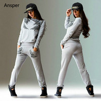 Wholesale Yellow Tracksuit For Women - 1 Set Print Women's Tracksuit Lady Casual Loungewear for Women Pull Over Tops and Pants O-Neck S-XL
