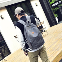 Wholesale Cheap Messenger Backpacks - New Male Briefcases Big Business Men Messenger Bags Canvas Women's cheap Travel shoulder Bags Men backpack Bags Black