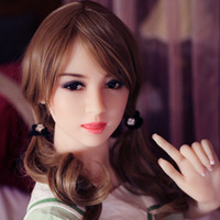 Wholesale Robot Real Doll - 153 cm Real Silicone Sex Dolls Realistic Human Mannequin Sex Robot Doll Big Breast Lifelike Tongue Teeth 3-holes Metal Skeleton