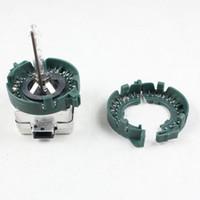 держатели ксенона оптовых-D1S D1R D1C D3S HID ксеноновая лампа держатель основания Пластиковые металлические фиксаторы кольца адаптер для автомобильных фар