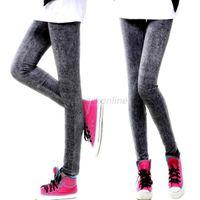 Wholesale Ladies Stretch Jeans Wholesale - Wholesale- Ladies Sexy Skinny Leggings Jeggings Denim Jeans Stretch Pants Trousers