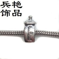 Wholesale Seaside Bracelets - Creative model Seaside tower bead telephone booth loose beads High quality DIY handmade jewelry Bracelet accessories