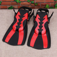 Wholesale Professional Swimming Pool - Wholesale- 2PCS Professional Scuba Diving Fins Adult Long Swimming Fin Diving Flipper Unisex Swimming Training Shoe Not Monofin