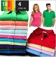 Wholesale Funny Polo Shirt - summer new fashion Top quality Crocodile Embroidery cotton casual short sleeve polo shirt streetwear tops funny brand clothing polo men tee