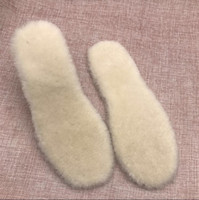 Wholesale C Cashmere - Athenic Wool Natural Sheepskin Insoles Cashmere Thermal Shearling Snow Boots Shoes Pads Wool Adult Winter Shoes Warm Smartwool Size EU36-44