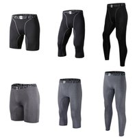 Wholesale active base - Men's Compression Tight Pants Base Layer Breathable Running Leggings