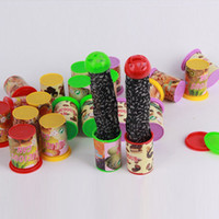 Wholesale Funny Candies - Wholesale- Kids Funny Trick Frighten For Magic Candy Jar Jump Out Toys With Voice Strange Jar Gags Practical