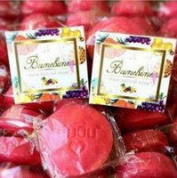 Wholesale Thai Wholesales Thailand - Bumebime Soap Handmade Soap Thailand Whitening Soap Fruits Essential Oil Bath and Body Works Beauty Thai Facial Cleansing Product
